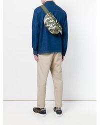 Herschel Supply Co. Green Camouflage Print Belt Bag for men