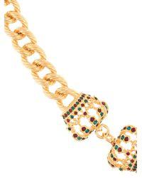 メンズ Dolce & Gabbana クラウン ブレスレット Metallic