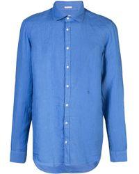Chemise Canary Massimo Alba pour homme en coloris Blue