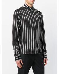Haider Ackermann Black Striped Shirt for men