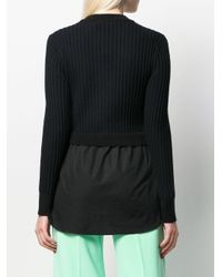 Jersey de punto mixto KENZO de color Black