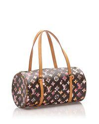 Сумка На Плечо Papillon Pre-owned Louis Vuitton, цвет: Brown