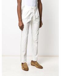 メンズ Eleventy スリムパンツ White