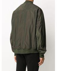 メンズ Attachment ジップアップ ジャケット Green