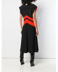 Расклешенное Платье Дизайна Колор-блок Givenchy, цвет: Black