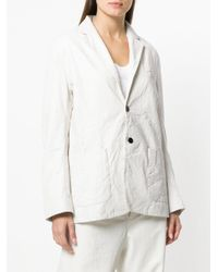 Zadig & Voltaire White Relaxed-fit Blazer