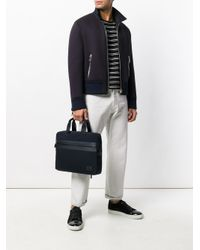 Michael Kors Black Laptop Briefcase for men