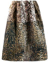 Pierre Louis Mascia キルティング スカート Multicolor