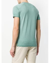 C P Company Green Short Sleeved T-shirt for men