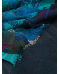 Écharpe imprimée en cachemire Etro pour homme en coloris Blue