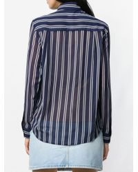 Блузка В Полоску MICHAEL Michael Kors, цвет: Blue