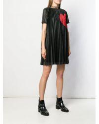RED Valentino ハートプリント シフトドレス Black
