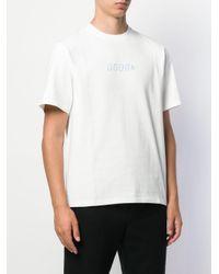 メンズ Golden Goose Deluxe Brand ロゴ Tシャツ White