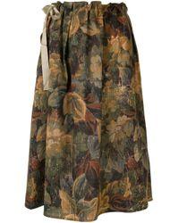 Pierre Louis Mascia フローラル スカート Multicolor