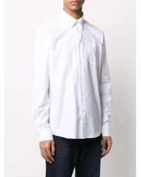 メンズ Barbour Tf 8 オックスフォード シャツ White