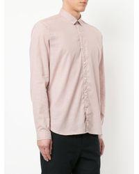 Oliver Spencer - Pink Clerkenwell Tab Shirt for Men - Lyst