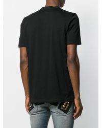 Camiseta con detalle de cuentas John Richmond de hombre de color Black
