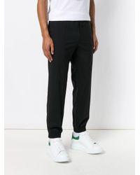 Pantaloni sportivi di Versace in Black da Uomo