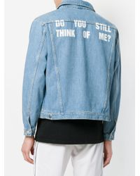 M I S B H V - Blue Classic Fitted Denim Jacket for Men - Lyst