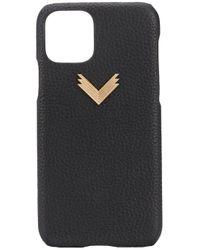 Manokhi Black IPhone 11 Pro-Hülle mit Prägung