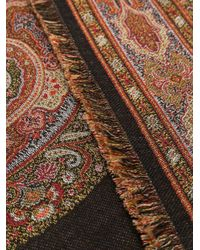 Etro ウーブンパターン スカーフ Multicolor