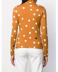 Chinti & Parker ポルカドット セーター Multicolor