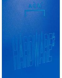 Кейс С Логотипом A_COLD_WALL* для него, цвет: Blue
