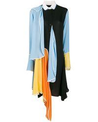 J.W. Anderson アシンメトリー ドレス Multicolor