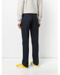 Armani Jeans - Blue Bootcut Jeans for Men - Lyst