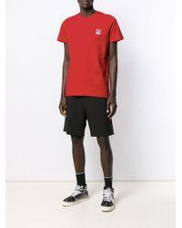 メンズ DIESEL ロゴ Tシャツ Red