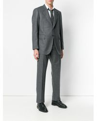 Thom Browne Gray Two Piece Suit for men
