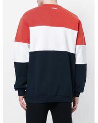 Fila Blue Logo Print Sweatshirt for men