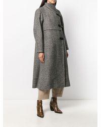 Manteau droit classique Isabel Marant en coloris Gray