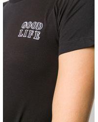 Être Cécile Good Life Tシャツ Black