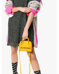 Balenciaga ビル ショルダーバッグ Xxs Yellow