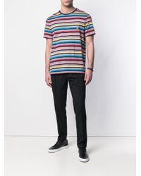 Pantalon fuselé à carreaux PT01 pour homme en coloris Black