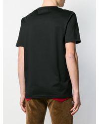 T-shirt Gancio Ferragamo pour homme en coloris Black