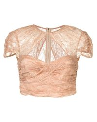 Alice McCALL Multicolor Sweetly Cropped Top