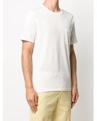 メンズ Vilebrequin パッチポケット Tシャツ White