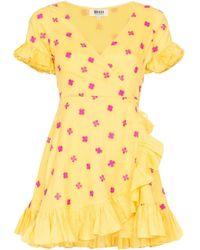 All Things Mochi Dory ラップドレス Yellow