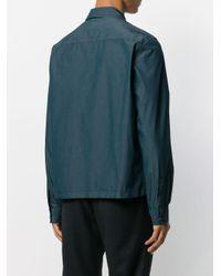 PS by Paul Smith Hemdjacke mit Reißverschluss in Blue für Herren