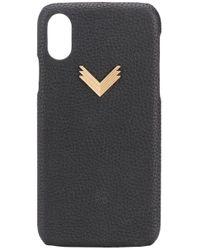 Manokhi X Velante Iphone X/xs ケース Black