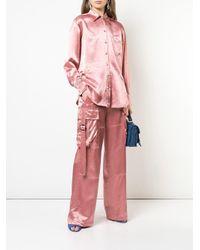 Sies Marjan ルーズフィット シャツ Pink
