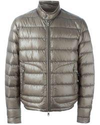Moncler - Gray 'acorus' Padded Jacket for Men - Lyst