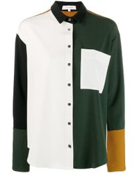 Chinti & Parker カラーブロック シャツ White