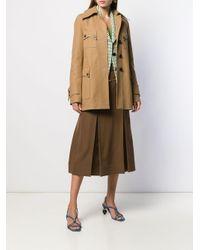 Victoria Beckham ポケット シングルコート Natural