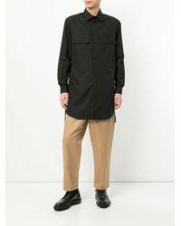 Craig Green Black Long Length Shirt for men