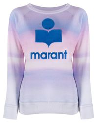 Étoile Isabel Marant プリント プルオーバー Blue