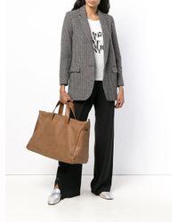 Marsèll Brown Rechteckige Handtasche