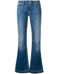 Dondup Blue Flared Jeans